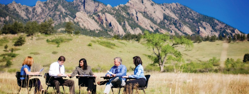 Outdoor Meeting - Government Collaboration