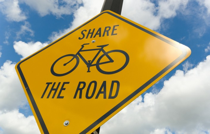 Share The Road - Safe Riding