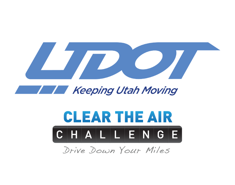 UDOT Clear The Air Logo