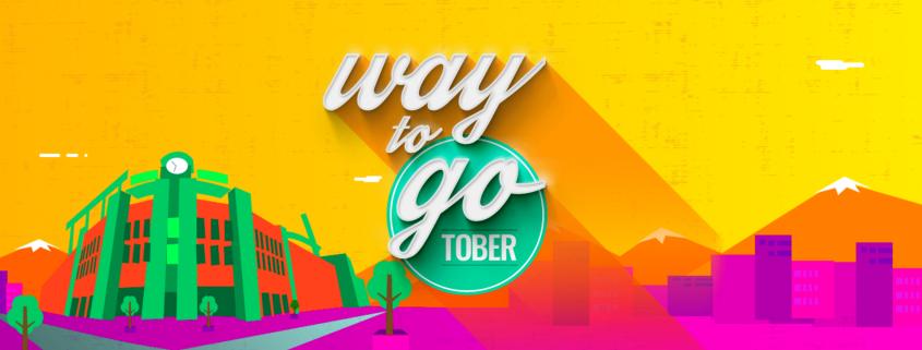 Way to Go-tober 2017 Banner